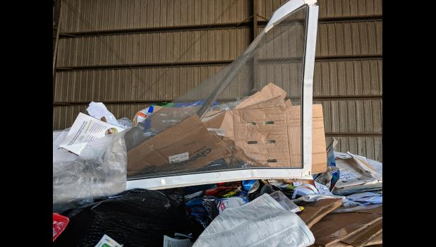 One of the reasons the Winamac Town Council has decided to no longer pay for recycling pickup is because the recycling is contaminated with nonrecyclable items.