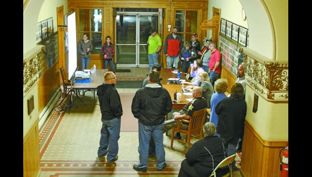 A handful of candidates along with their family members and supporters gathered at the Pulaski County Courthouse to witness how the votes stacked up on Tuesday. Republicans took center stage and swept the elections for the county.