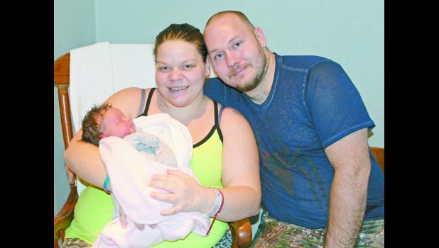 Isabel Paige Anthony was welcomed into the world on Jan. 6 and was the first baby born at Pulaski Memorial Hospital in 2018. Isabel has received lots of love and affection from her parents Nakita Rentfrow and Billy Anthony.
