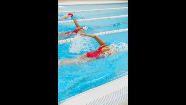 Stock photo of swimming pool
